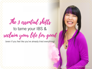 Free Online Class: 3 Shifts For IBS, by Wendy Leung Coaching